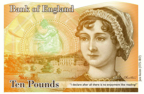Why that Jane Austen quotation on the new £10 note is a major blunder   Bank of England   Scoop.it