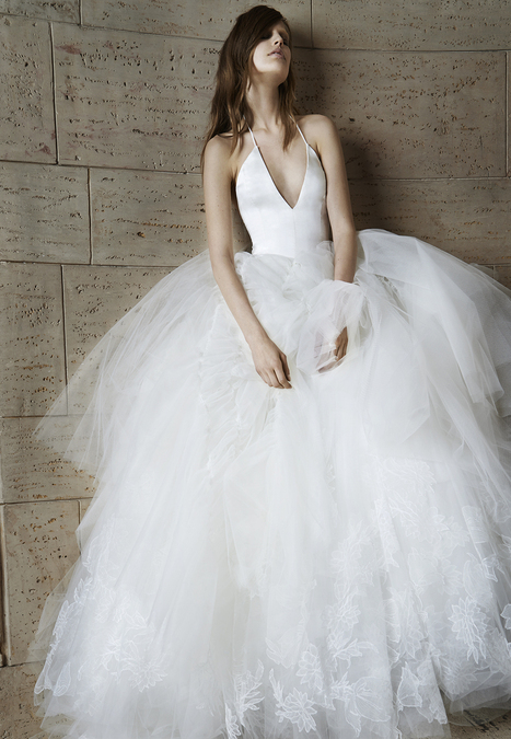 Wedding Dresses, Bridal Gowns by Vera Wang | Spring 2015 | Fashion Zone | Scoop.it