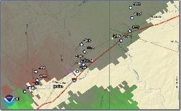 Preliminary Radar Based Rotation Paths – Devine, Natalia, Lytle,TX | GIS, Spatial modelling & Plants | Scoop.it