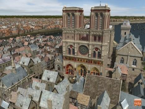 Des images de synthèse vous dévoilent le visage de Paris au Moyen-Age | La Longue-vue | Scoop.it