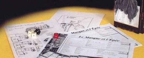 [JDR] Souscription – Le Masque et l'Epée | Jeux de Rôle | Scoop.it