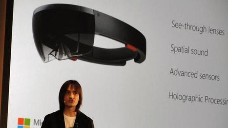 Microsoft's answer to Google Glass: HoloLens | Low Power Heads Up Display | Scoop.it