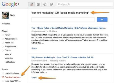 3 Ways To Use Google Plus In Your Content Marketing Efforts   Xposed   Scoop.it