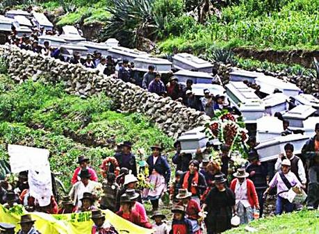 Lucanamarca: Seres humanos caídos bajo el terror de Sendero ... | Terrorismo en el Perú | Scoop.it
