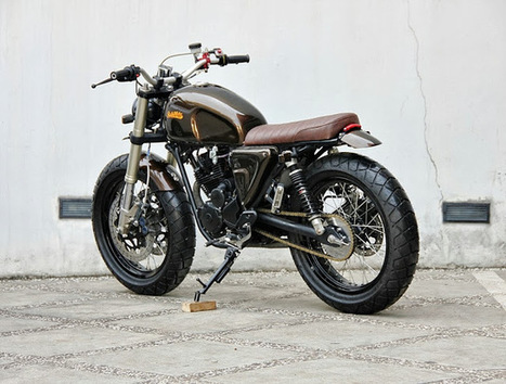 Yamaha Scorpio Scrambler | The Brownie - Grease n Gasoline | motor | Scoop.it