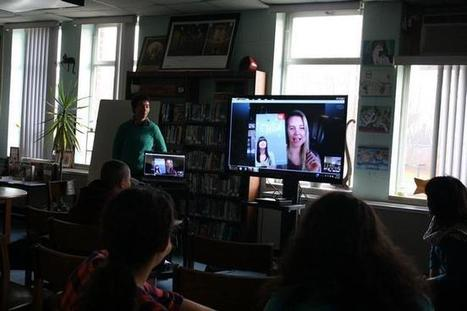 Tiverton Middle School group Skypes with authors to hear the stories' stories | TMS Rocks! | Scoop.it