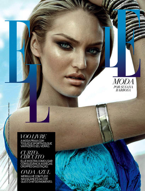 """Voo Livre"" Candice Swanepoel for Elle Brazil September 2012 | Ibiza Rome | Scoop.it"