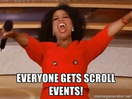 Why the Scroll Event Change in iOS 8 is a Big Deal | Javalobby | All @Programming | Scoop.it