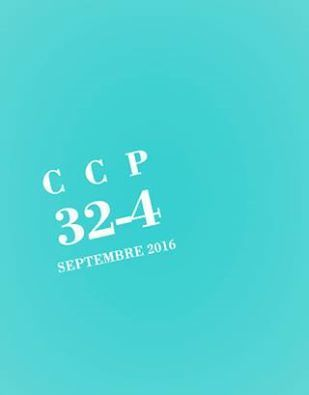 Le numéro 32-4 deCCP (cahier critique de poésie) #septembre_2016 vient d'être mis en ligne | TdF  |    Critique & Revues | Scoop.it