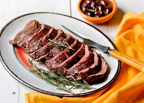 Beef in Parchment With Olive Sauce Recipe | ♨ Family & Food ♨ | Scoop.it