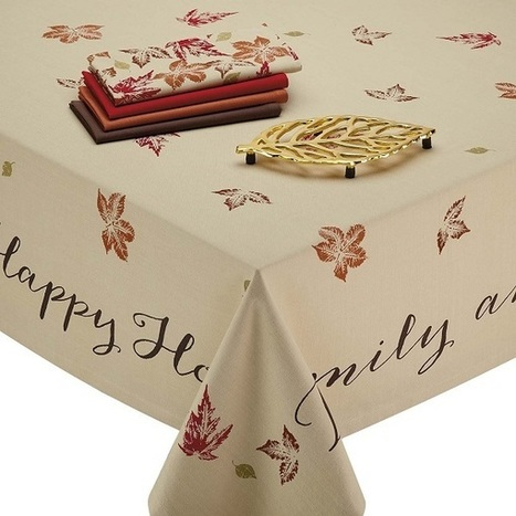 10 Stylish Tablecloths for Thanksgiving | Moms | Scoop.it