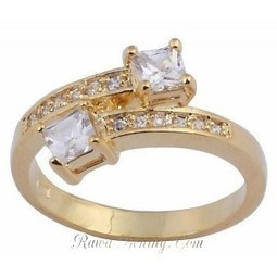 Cincin Wanita Ring 6 model White Sapphire Gold Filled | Womans Fashion, LifeStyle and Beauty | Scoop.it