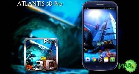 Atlantis 3D Pro Live Wallpaper 1.4 apk Free Download ~ MU Android APK | Android | Scoop.it