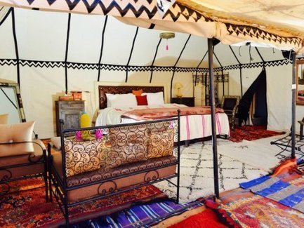 Luxurious and Comfortable Desert Camping Facilities In ErgChebbi   sahara desert tours Morocco   Scoop.it
