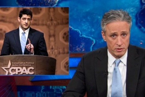 Jon Stewart Shreds Paul Ryan's Fake School Lunch Story (Video) - TheWrap | Constant Learning | Scoop.it
