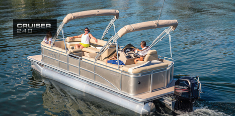 Cruiser 240: Harris FloteBote | Party Boats | Deck Boats for Sale : 2013 | Pontoon Boats | Scoop.it