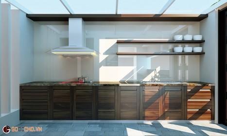 tủ bếp gỗ óc chó dẫn đầu về tủ bếp hiện đại châu âu | xocdiabip | Scoop.it