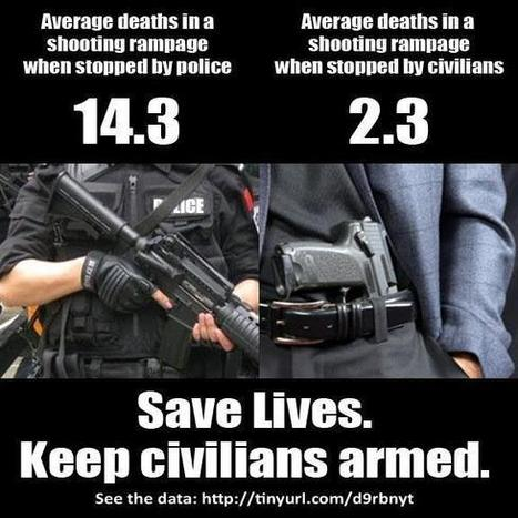 Civilians excel at stopping mass shootings | Gun Control Reserch paper | Scoop.it