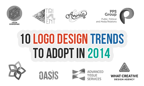 10 Logo Design Trends To Adopt in 2014 | Logo Project TAFE | Scoop.it