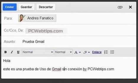 Como Usar Gmail sin conexion a Internet|PCWebtips.com | Windows PC - Trucos y Tips | Scoop.it