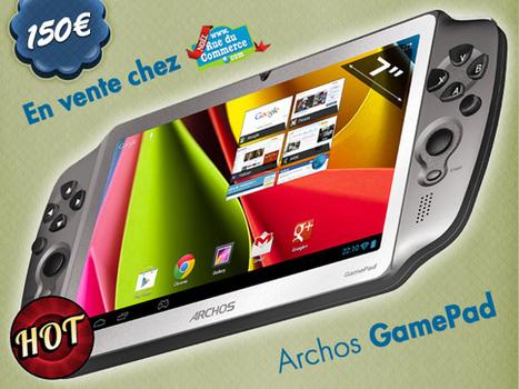 ARCHOS GamePad en vente à 150€ | Les bons Plans de tablettes Android | Scoop.it