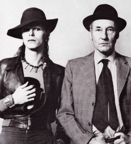 40 Years Ago, David Bowie and William S. Burroughs Interviewed Each Other   david bowie   Scoop.it