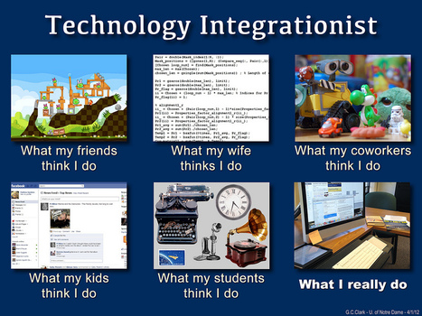 Technology Integrationist | What I really do | Scoop.it