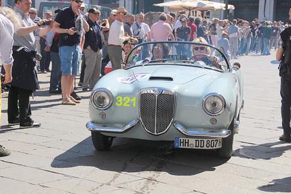 20140515 Italie Brescia - 1000 Miglia - Lancia Aurelia B24 spider America -(1955)- | Voitures anciennes - Classic cars - Concept cars | Scoop.it
