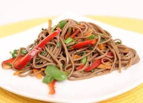 Salad Recipe-Soba Noodle Salad   Food, Health, Recipes and Tips   Scoop.it