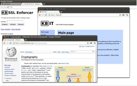 KB SSL Enforcer | Apps and Widgets for any use, mostly for education and FREE | Scoop.it