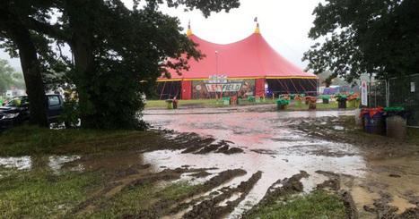 À deux jours de l'ouverture de Glastonbury, voilà à quoi ressemble le site du festival | Kultur | Scoop.it