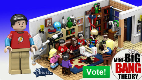 LEGO Big Bang Theory Cast And Apartment Build | Geekologie | Get Your Geek On | Scoop.it