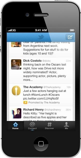Twitter : de la pub sur vos smartphones | Pratique et Twitter | Scoop.it