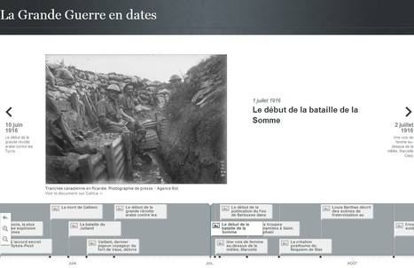 150 dates, 150 documents : la frise chronologique sur Grande Guerre en ligne ! - Mission Centenaire 14-18 | GenealoNet | Scoop.it