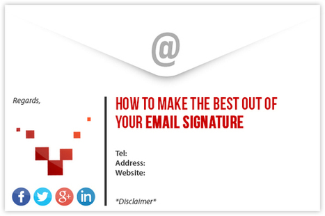 How to Make the Best Out of Your Email Signature | Social Media Buzz | Scoop.it
