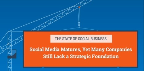 Time to Grow Up! Social businesses mature, yet many still lack a strategic foundation [infographic] - Brian Solis   H2H Marketing   Scoop.it