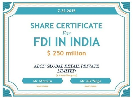 How to Make FDI in India & Foreign Direct Investment Policy in India | Company Registration in Delhi | Scoop.it