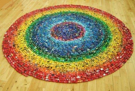 David T. Waller: The Toy Atlas Rainbow   Art Installations, Sculpture, Contemporary Art   Scoop.it