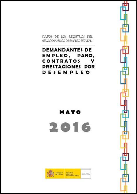 Datos del paro en mayo de 2016   Empleo Palencia   Scoop.it