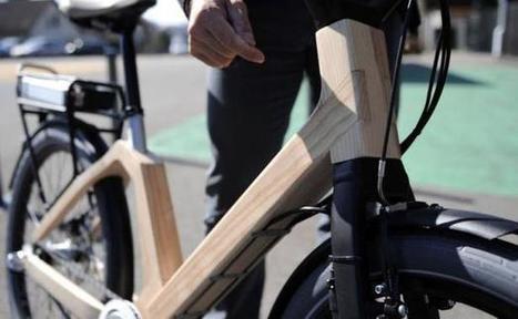 Un prototype de vélo électrique en bois testé dans les Vosges   Innovation bois   Scoop.it