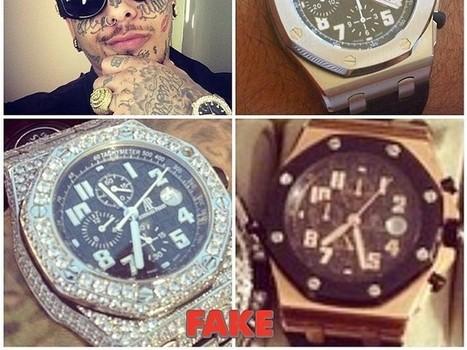 Le «Batman de l'horlogerie» affiche les rappeurs aux fausses montres - Rue89   Style Masculin   Scoop.it