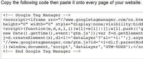 Google Tag Manager - OsakaBentures | The World of Google | Scoop.it