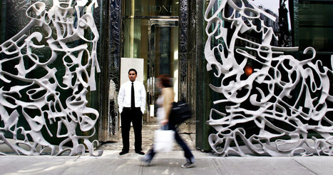 The New Must-Have for Luxury Buildings: Graffiti - New Yorker (blog) | Retail Design | Scoop.it