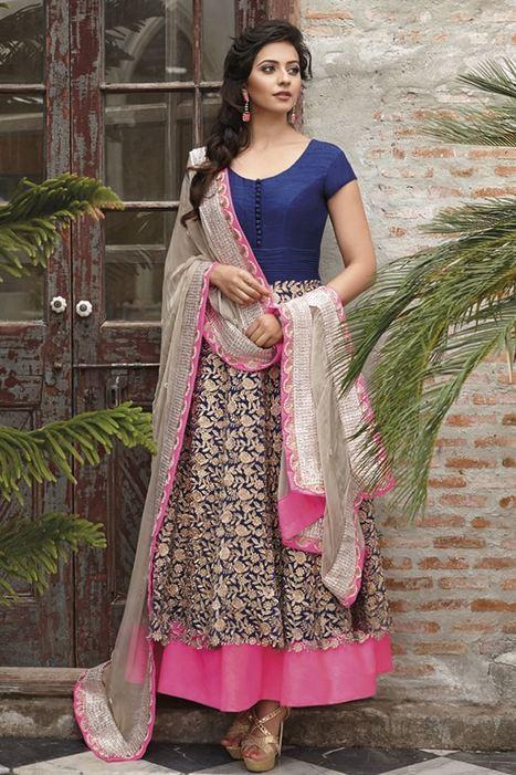 Anarkali Salwar Suits – Stylish Party Wear Attire | Salwar Suits | Scoop.it
