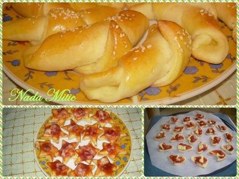 #Recept Kiflice sa sirom i mini pice | Recepti i kuhinja za pocetnike [ kao ja] | Scoop.it