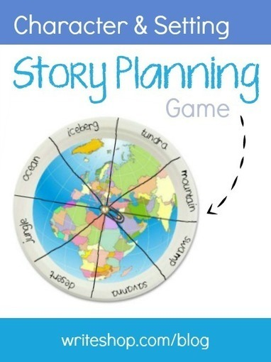 Story planning game | Character and setting | Reading and Writing in primary school | Scoop.it