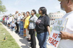 Marchers call for equality, end to racial profiling - Kansas.com   Police Problems and Policy   Scoop.it