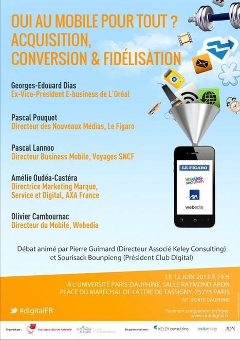 Club Digital - Université Paris-Dauphine & EM Lyon - 12 juin 2013 19h00 - à Paris Dauphine | Conferences | Scoop.it
