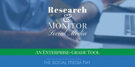 An Incredible Research And Monitoring Tool for Social Media | The Content Marketing Hat | Scoop.it