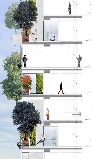 Le premier-immeuble FORÊT du monde - Maisons Nature Bois | The Architecture of the City | Scoop.it